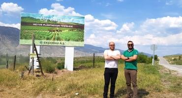 Filistinli Yatırımcıların Eskişehir'e Tarım Ziyareti
