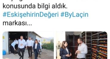 Ak Parti Eskişehir Milletvekilimiz Sn. Emine Nur Günay Hanımın Bahçe Ziyareti